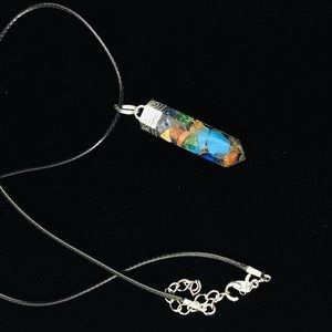 Jewelry - Orgone point pendant necklace
